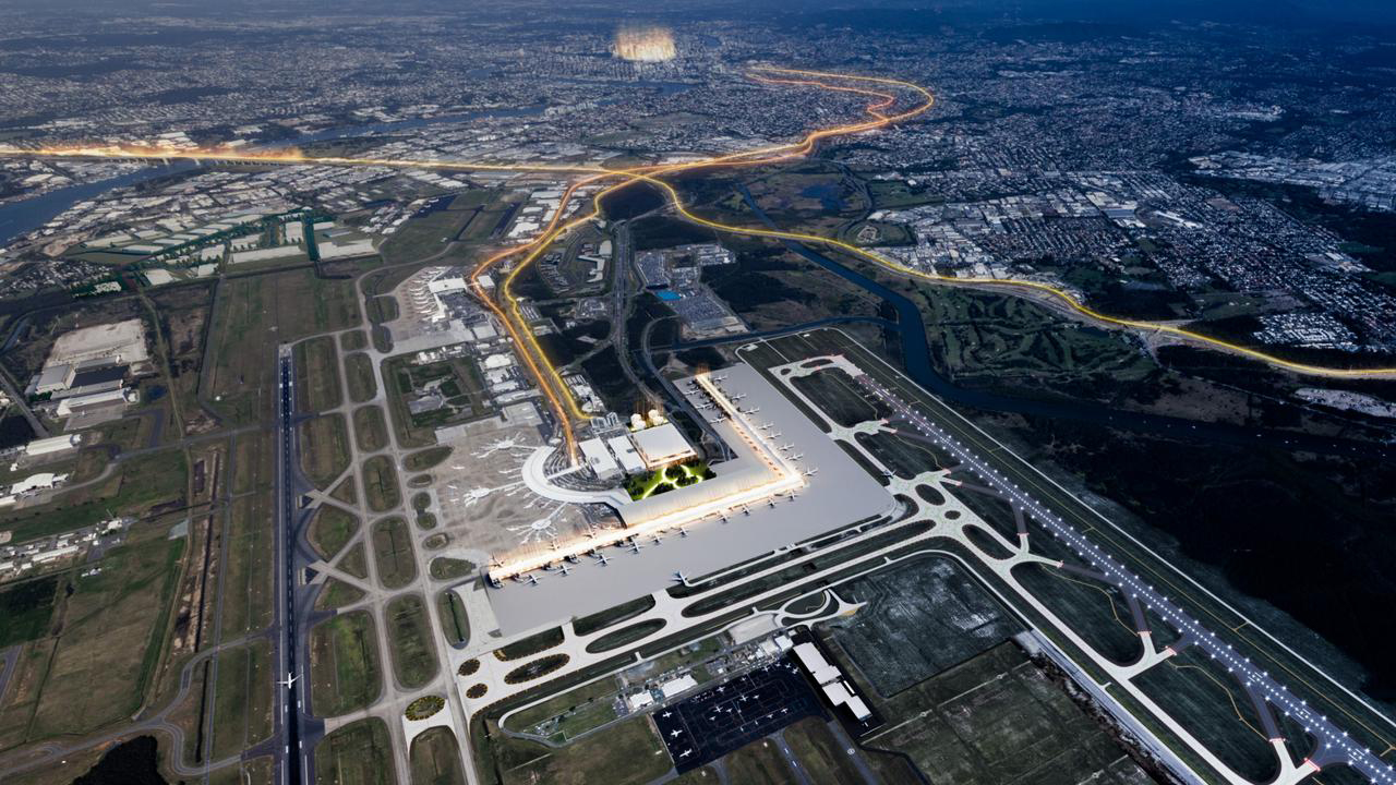A recent proposal for a brand new integrated Airport terminal would surely be greenlit should the 2032 be officially awarded to Brisbane.